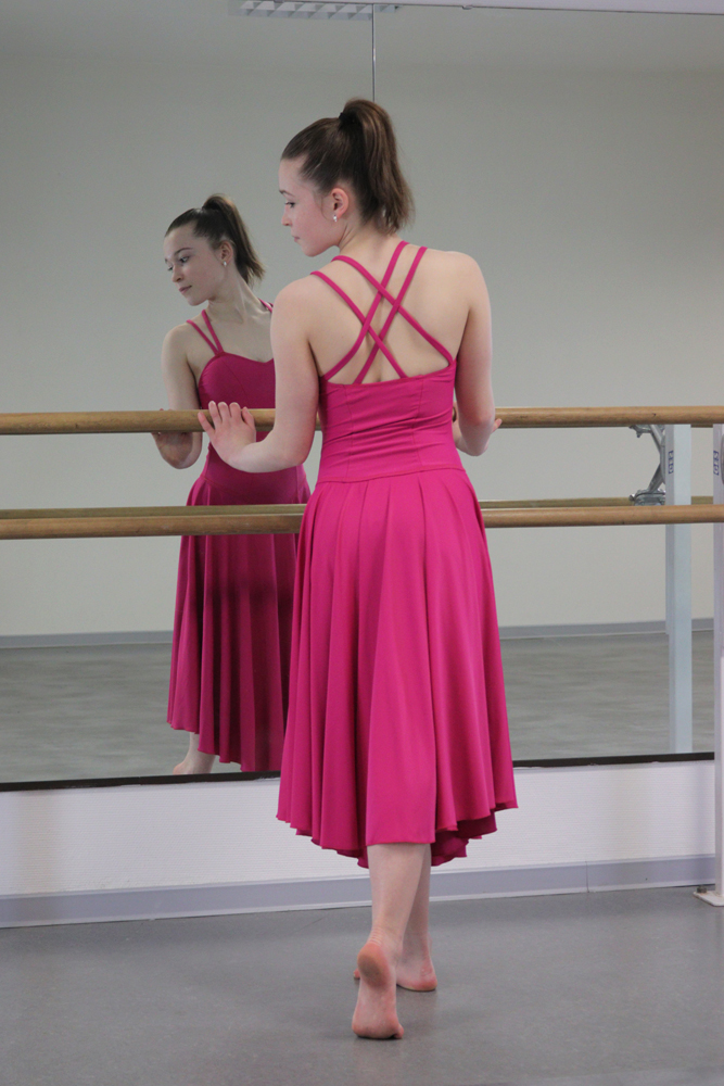 costume-danse-robe-rose-fuschia